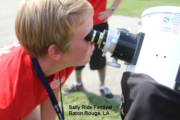 Sally Ride Festival in Baton Rouge