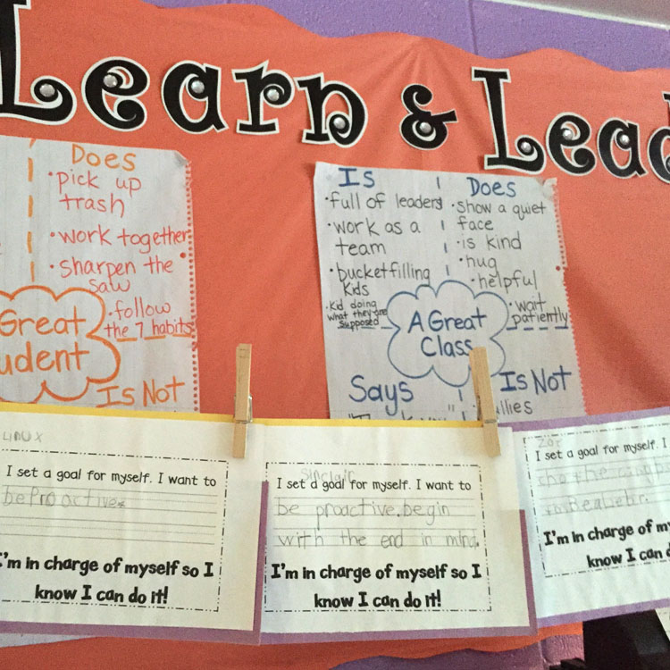 learn and lead board