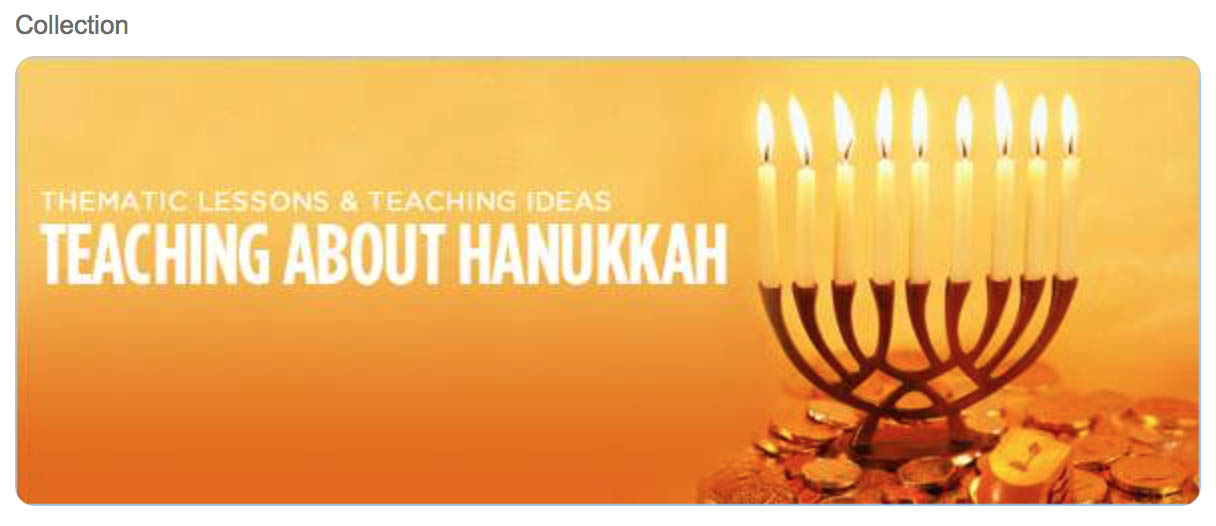 Hanukkah teaching