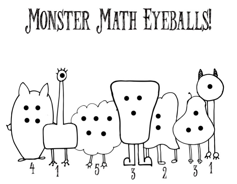Monster eyeball differentiation