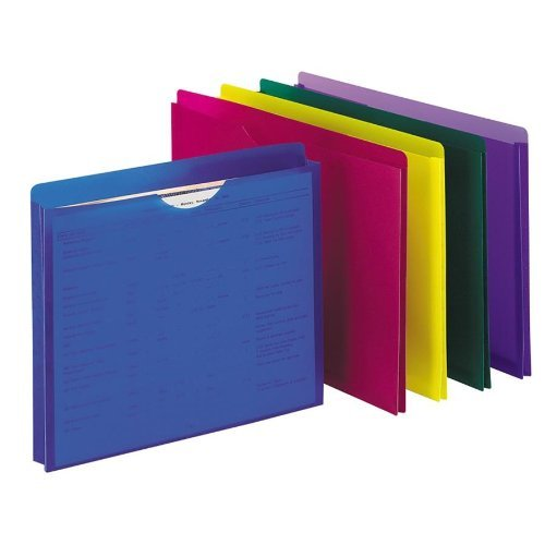 Pendaflex Plastic Files
