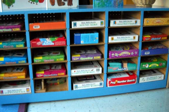 Cubbies for Puzzles