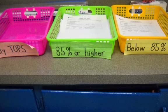 Independent Self Assessment Baskets