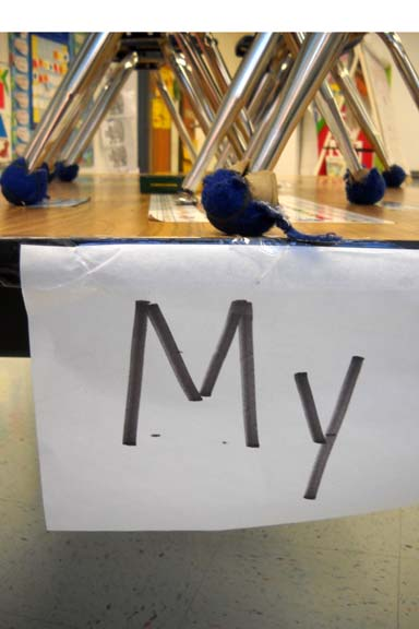 Sight Words on Tables