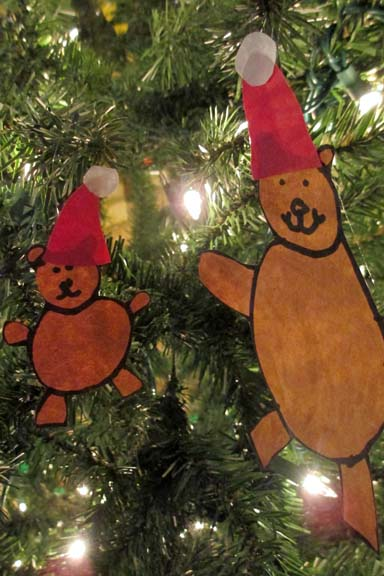 bear ornaments bialoskys christmas book