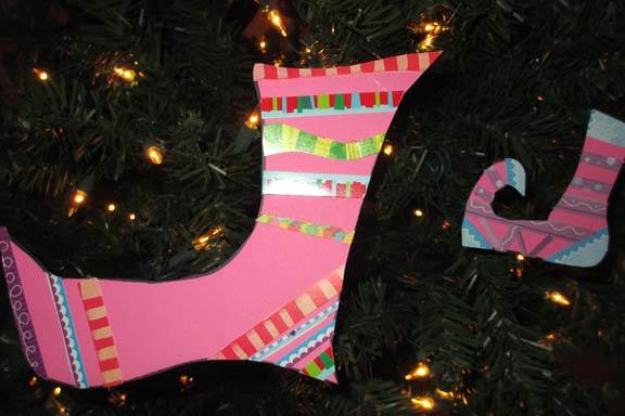 Funky Stocking Ornaments
