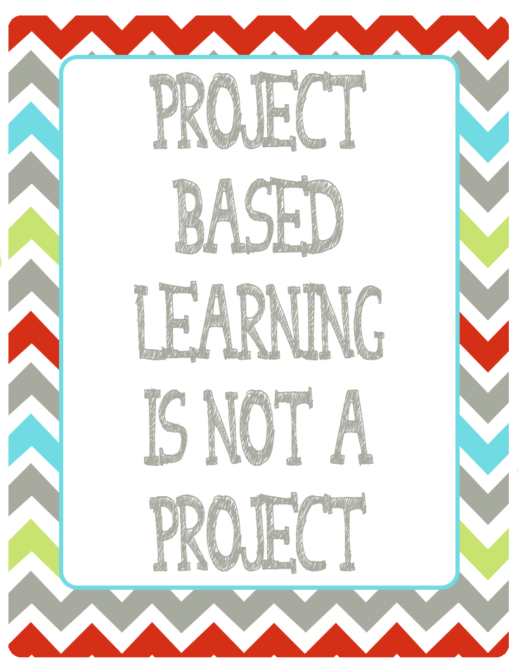 PBL is not a project
