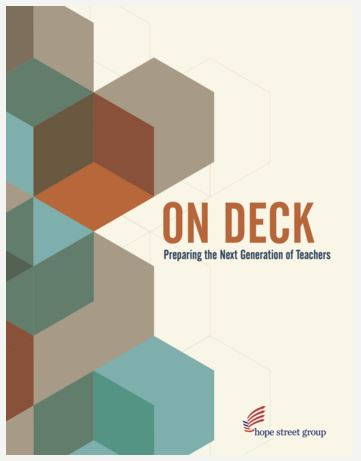 On Deck: Preparing the Next Generation of Teachers