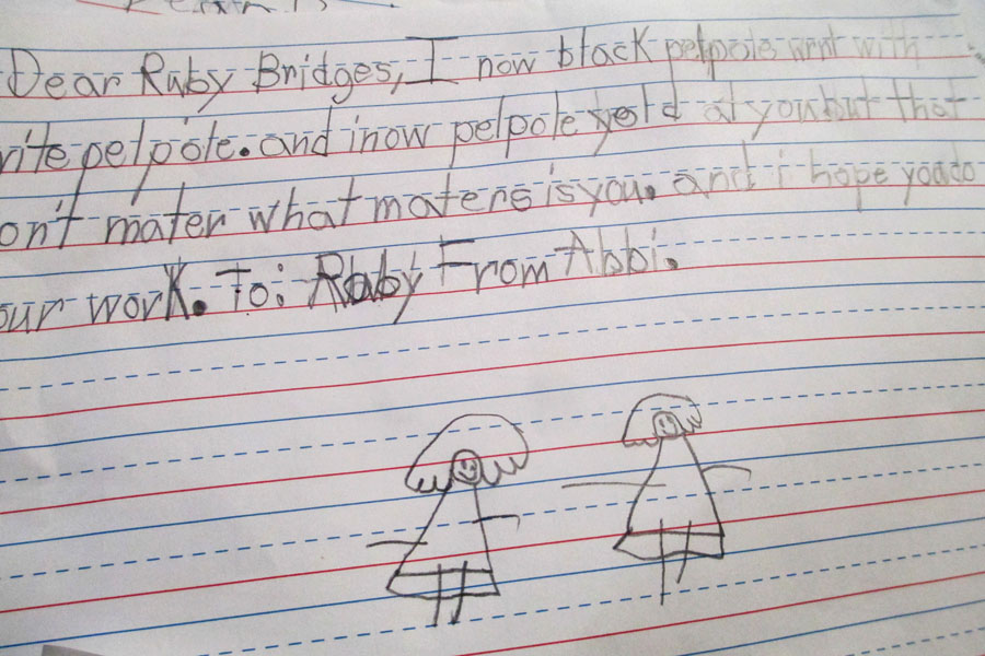 A Child S Letter To Ruby Bridges