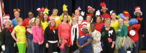 Dr. Seuss Faculty Dress Up