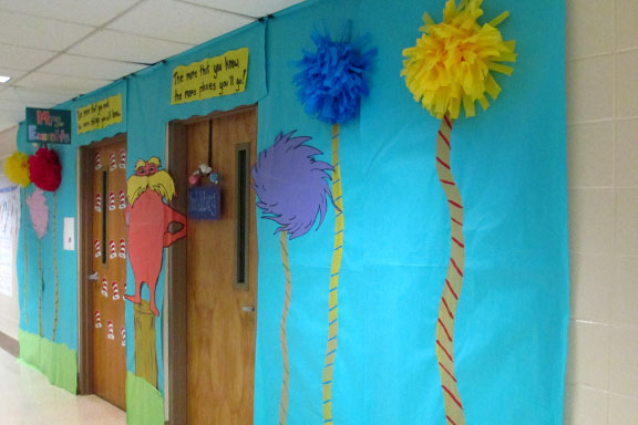 creative seuss celebration with multigrade collaboration