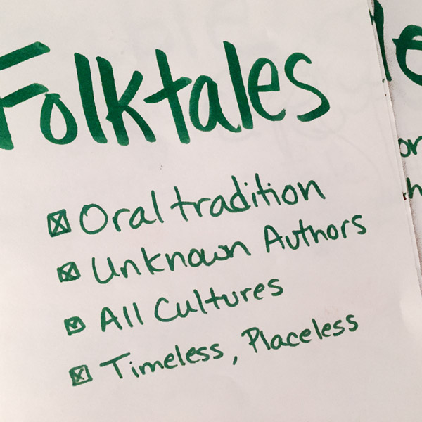 folktale notes cover