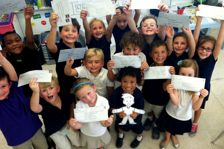 Mailing Flat Stanley
