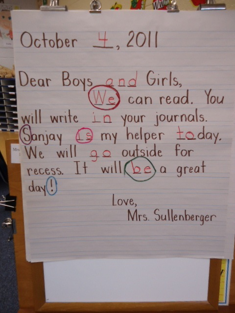 The Morning Message A Valuable Teaching Tool Scholastic