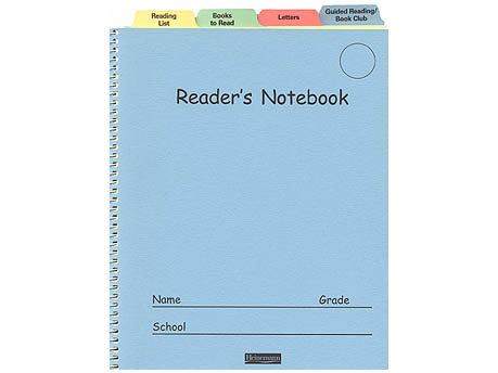 The Reader S Notebook Grades 3 12 Scholastic