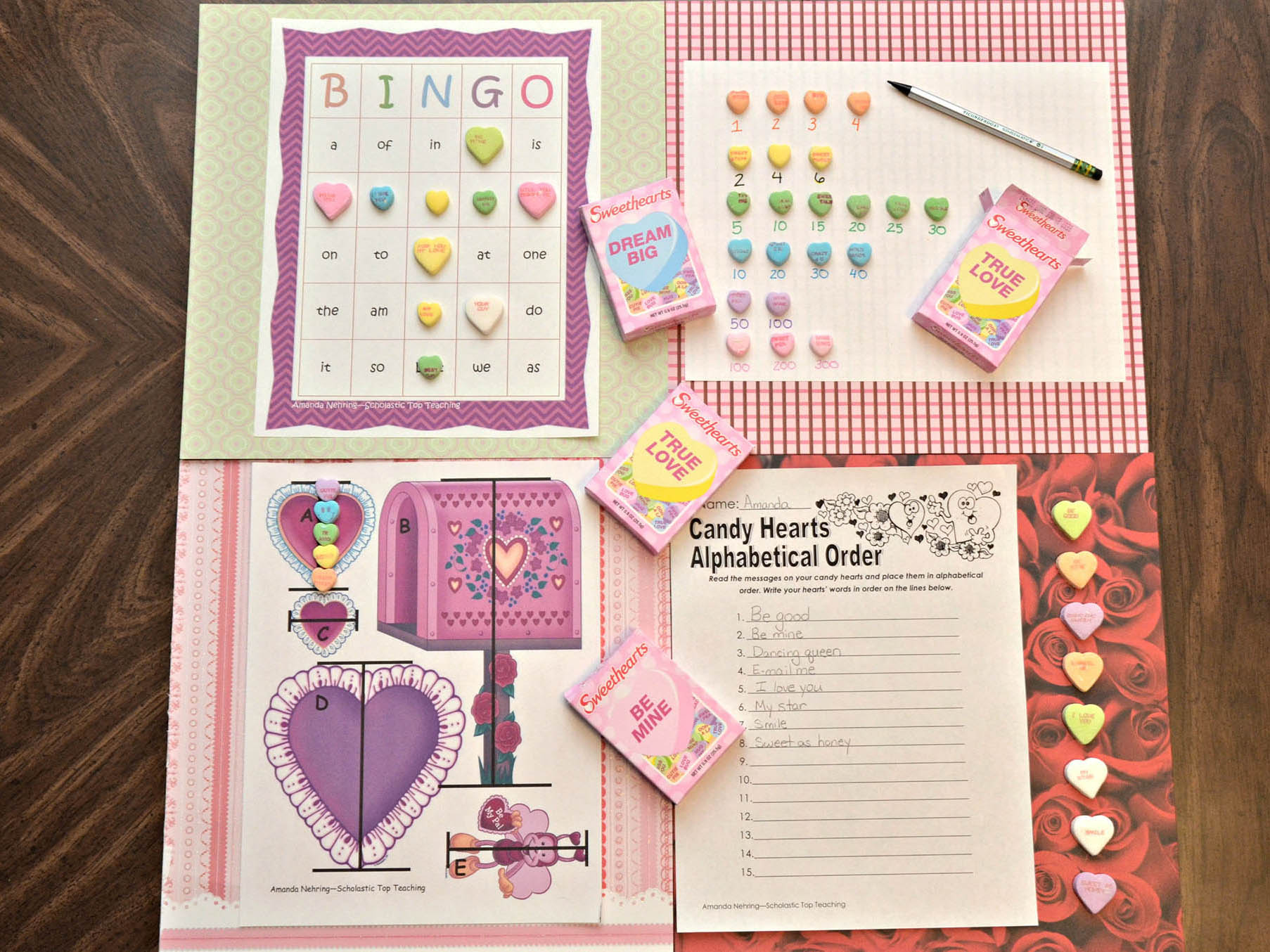 14 Sweet Activities With Candy Hearts Scholastic