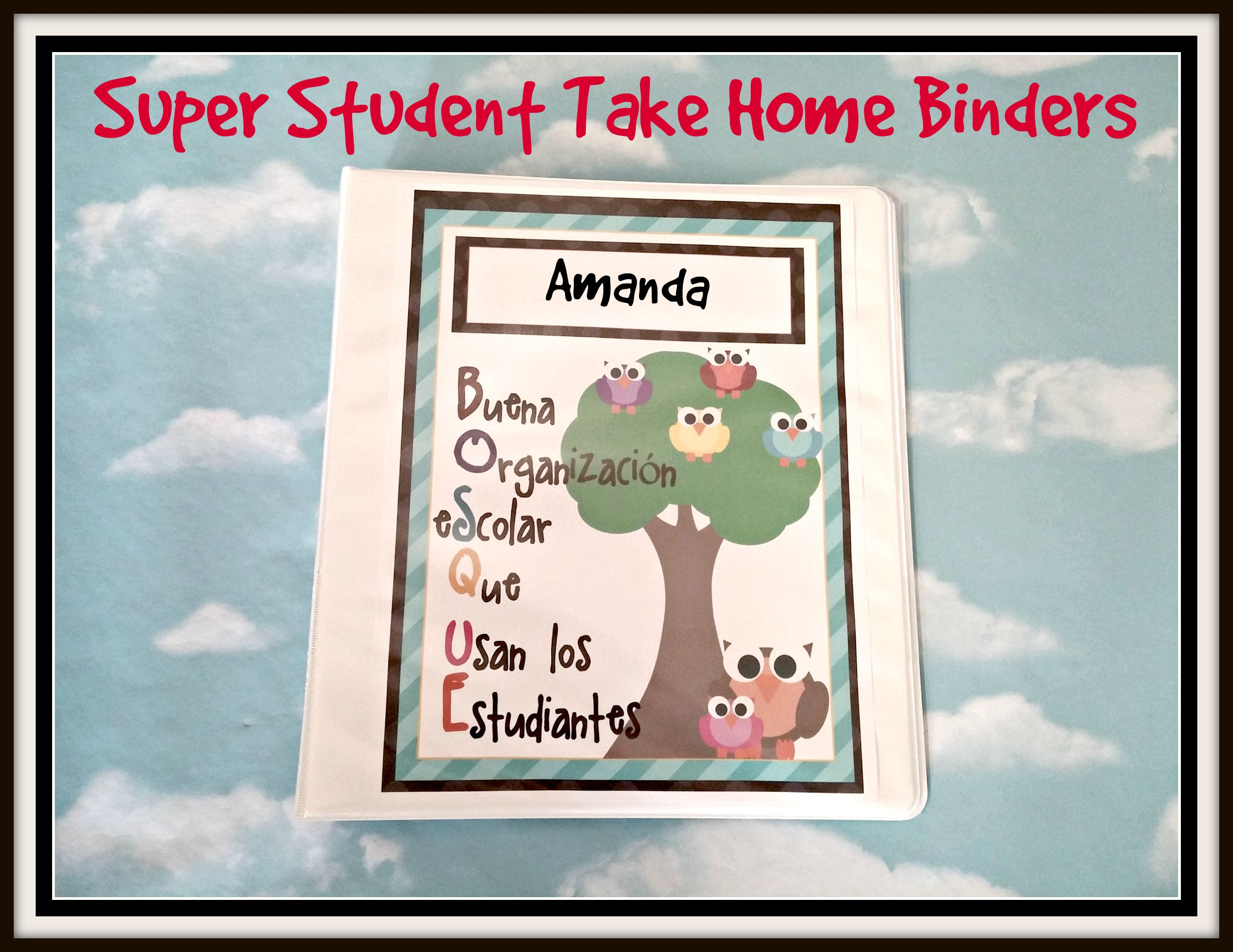 Super Student Take-Home Binders | Scholastic