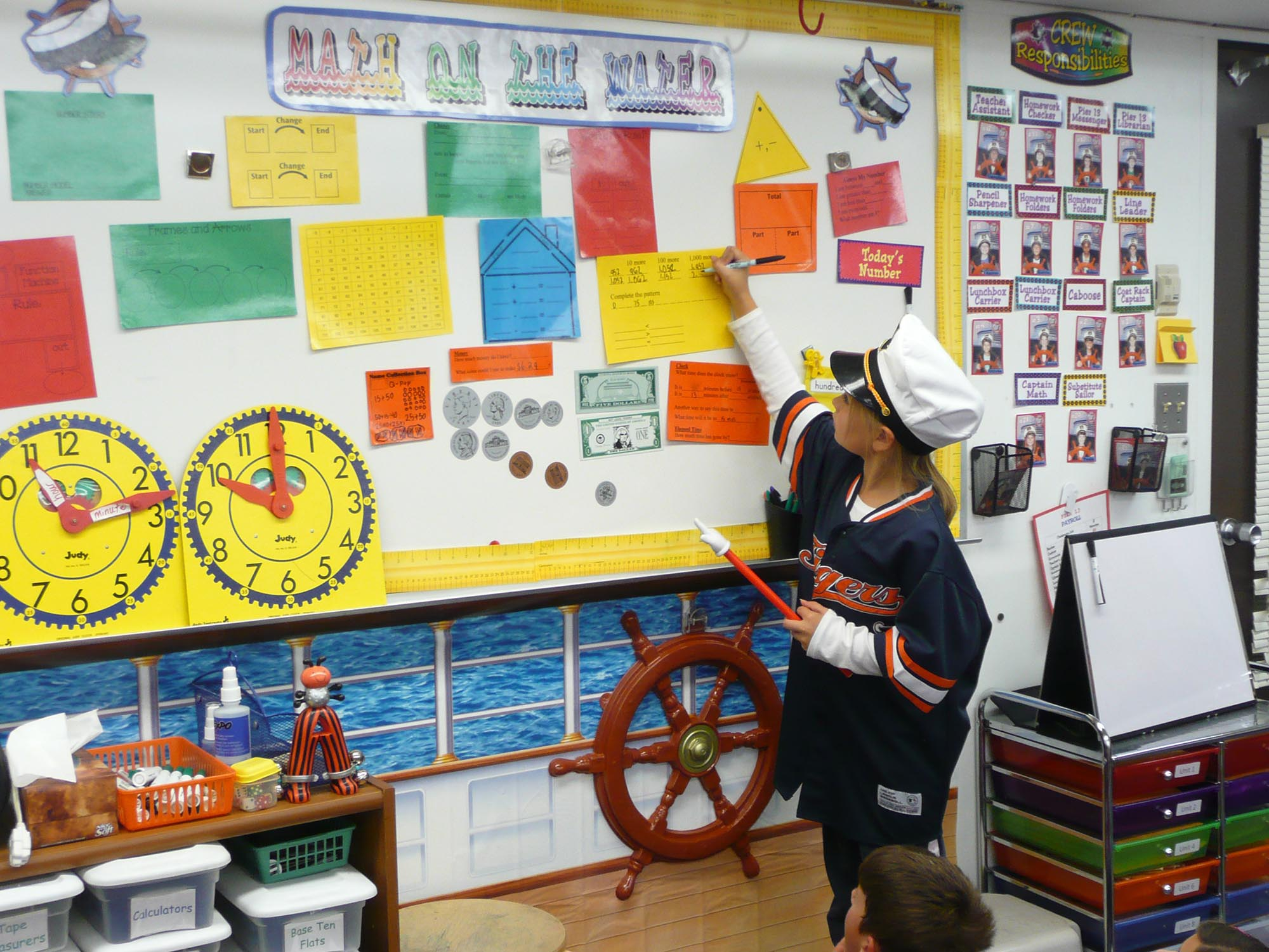 Classroom Review Ideas : Hands on bulletin boards geography math
