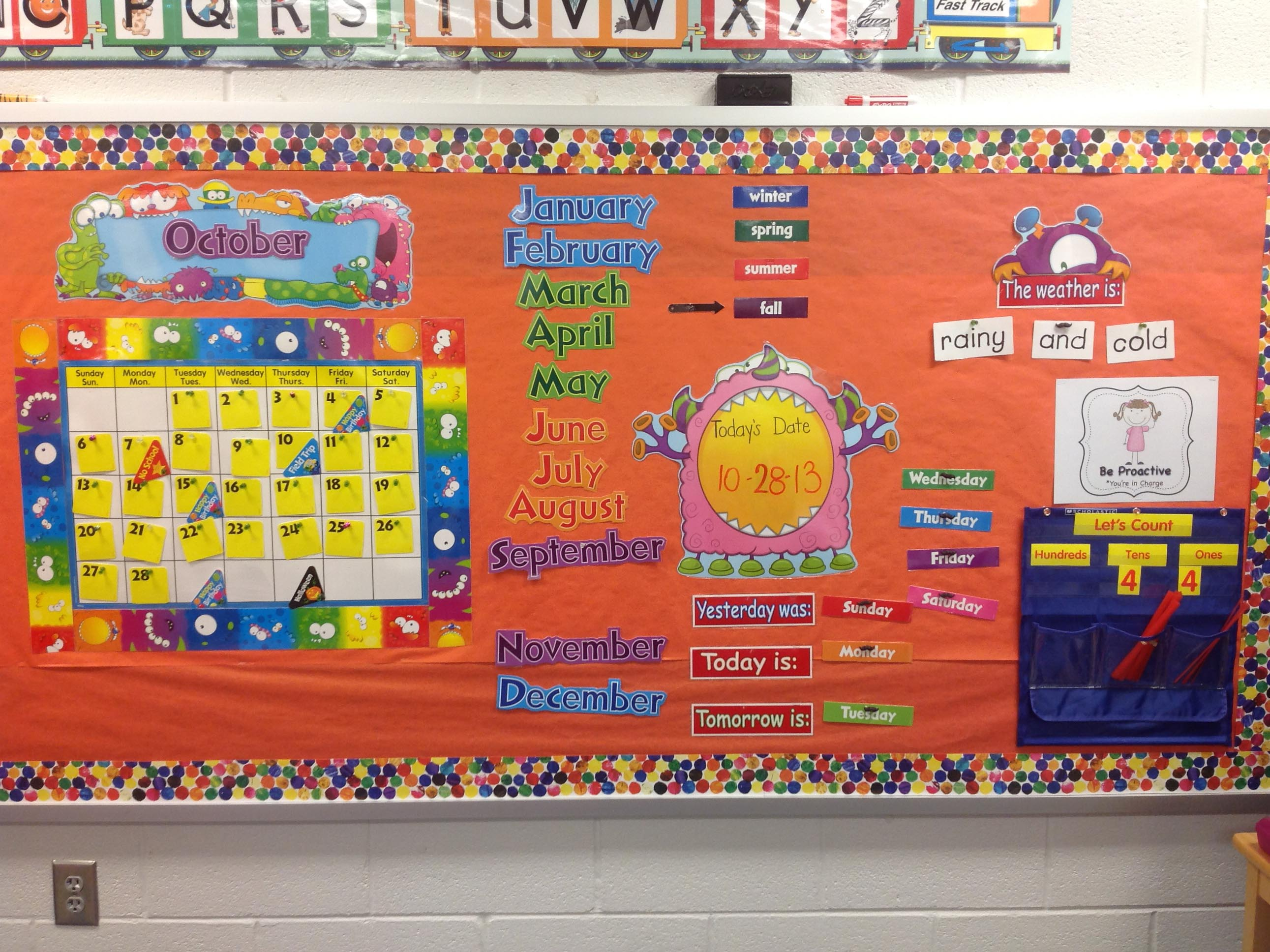 Kindergarten Calendar Math Ideas : Meeting common core standards during calendar time