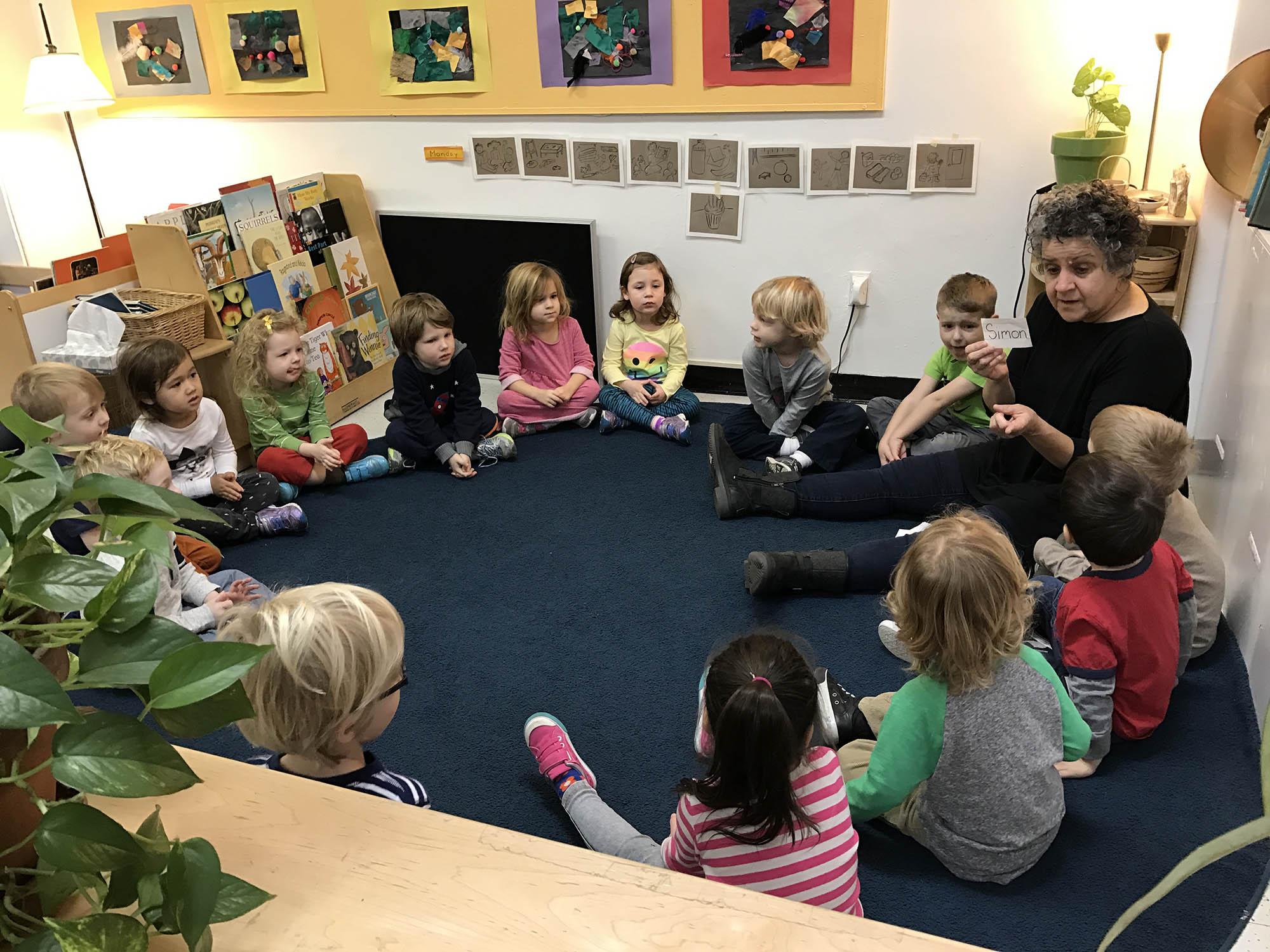 preschool goals meetings meeting teacher teachers parent choosing winter elaine prek class scholastic grades blogs december begin