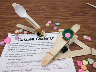 A Valentine Stem Challenge Catapults And Candy Scholastic