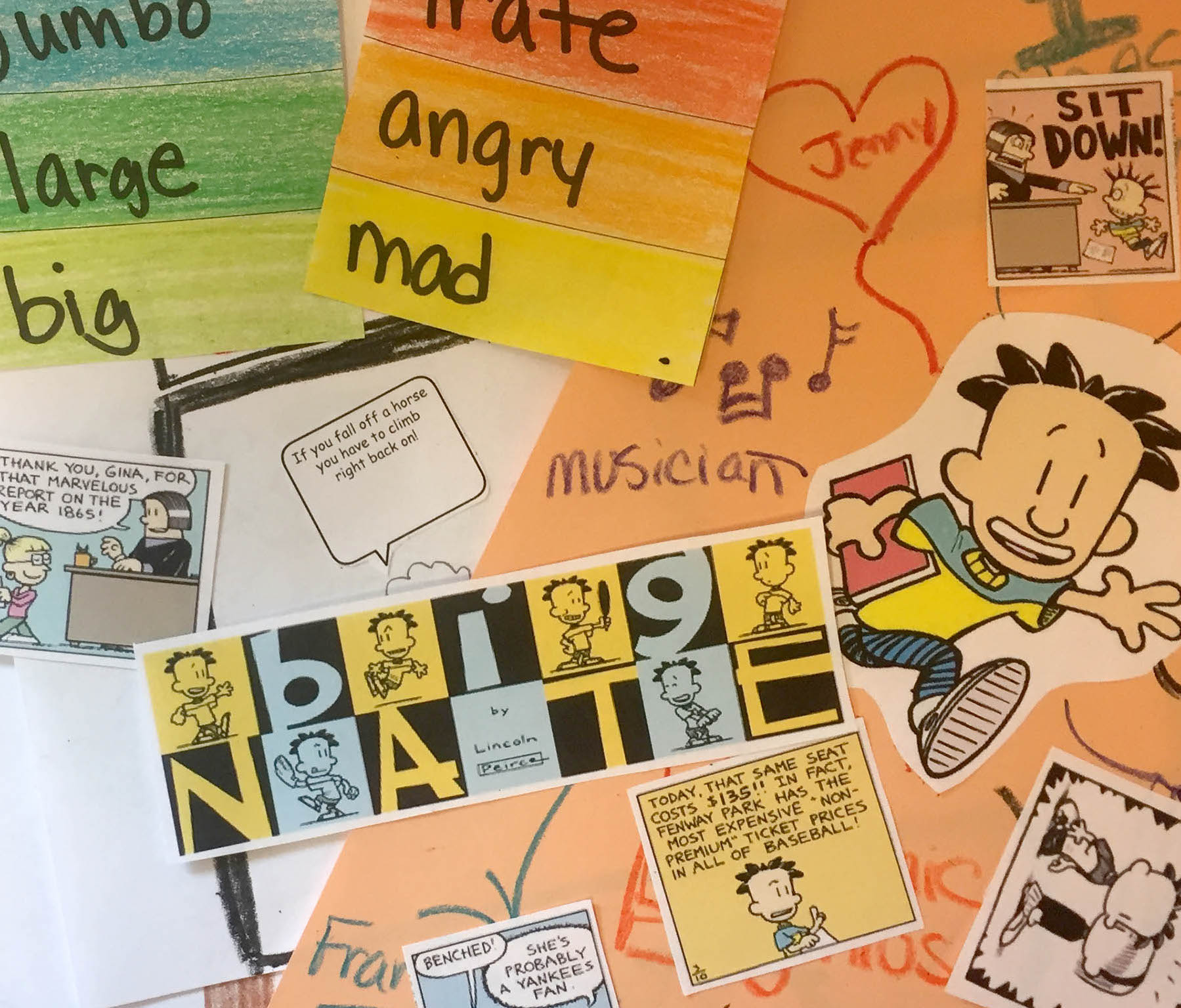 13 Big Ideas For Big Nate And Other Graphic Novels Scholastic