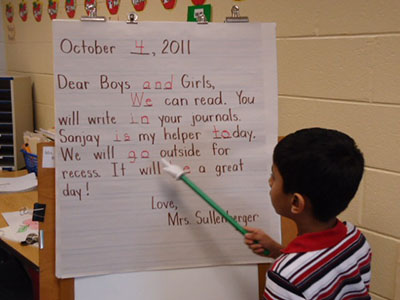 The Morning Message: A Valuable Teaching Tool | Scholastic