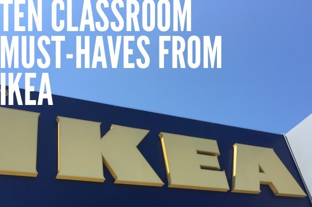 10 classroom must haves from ikea scholastic. Black Bedroom Furniture Sets. Home Design Ideas