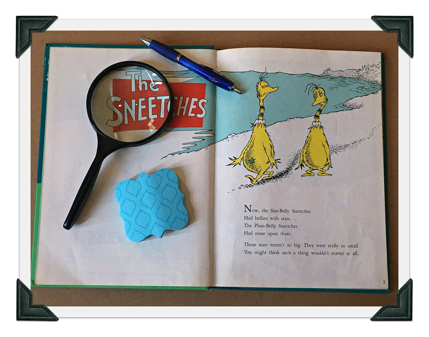 Close reading using the sneetches scholastic close reading using the sneetches sciox Choice Image