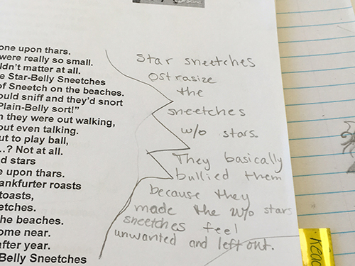 Close Reading Using The Sneetches Scholastic. Close Reading For Meaning. Worksheet. The Sneetches Worksheets At Mspartners.co