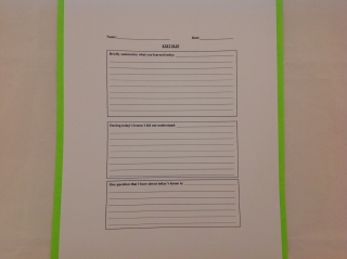 Using Exit Tickets As An Assessment Tool Scholastic