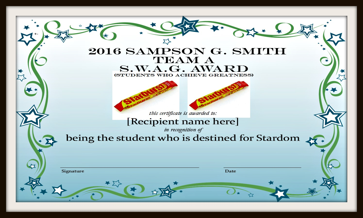 Creating end of the year student certificates scholastic we have a pretty big variety of different awards that are handed out to the students to print your own certificates just click on any of the powerpoints yelopaper Image collections