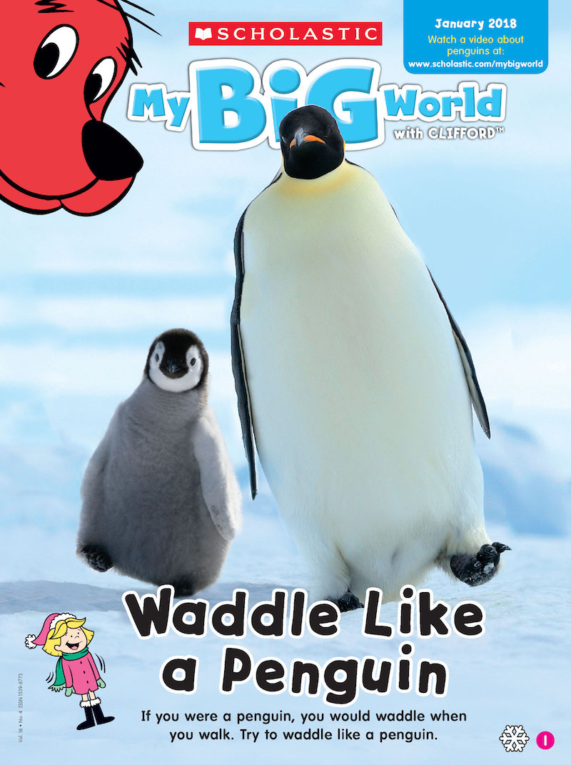Full Steam Ahead Preschoolers And Penguins Scholastic