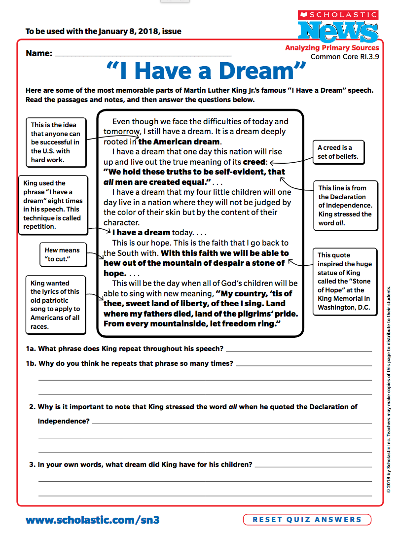 5 Ways To Celebrate Dr Martin Luther King Jr Scholastic