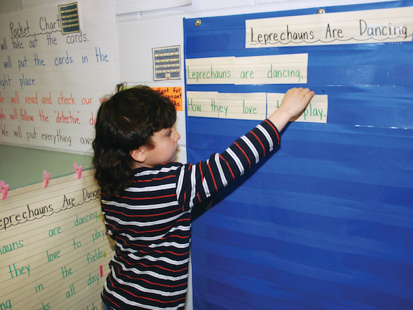 Great Ideas For Using Pocket Charts In Literacy Centers