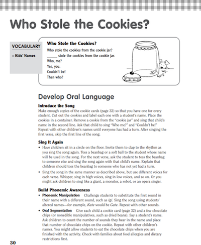 Who Stole The Cookie From The Cookie Jar Lyrics Beauteous The Cookie Fiasco Learning Activities Free Printables And A
