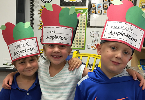 Fall Into Autumn With Johnny Appleseed Scholastic