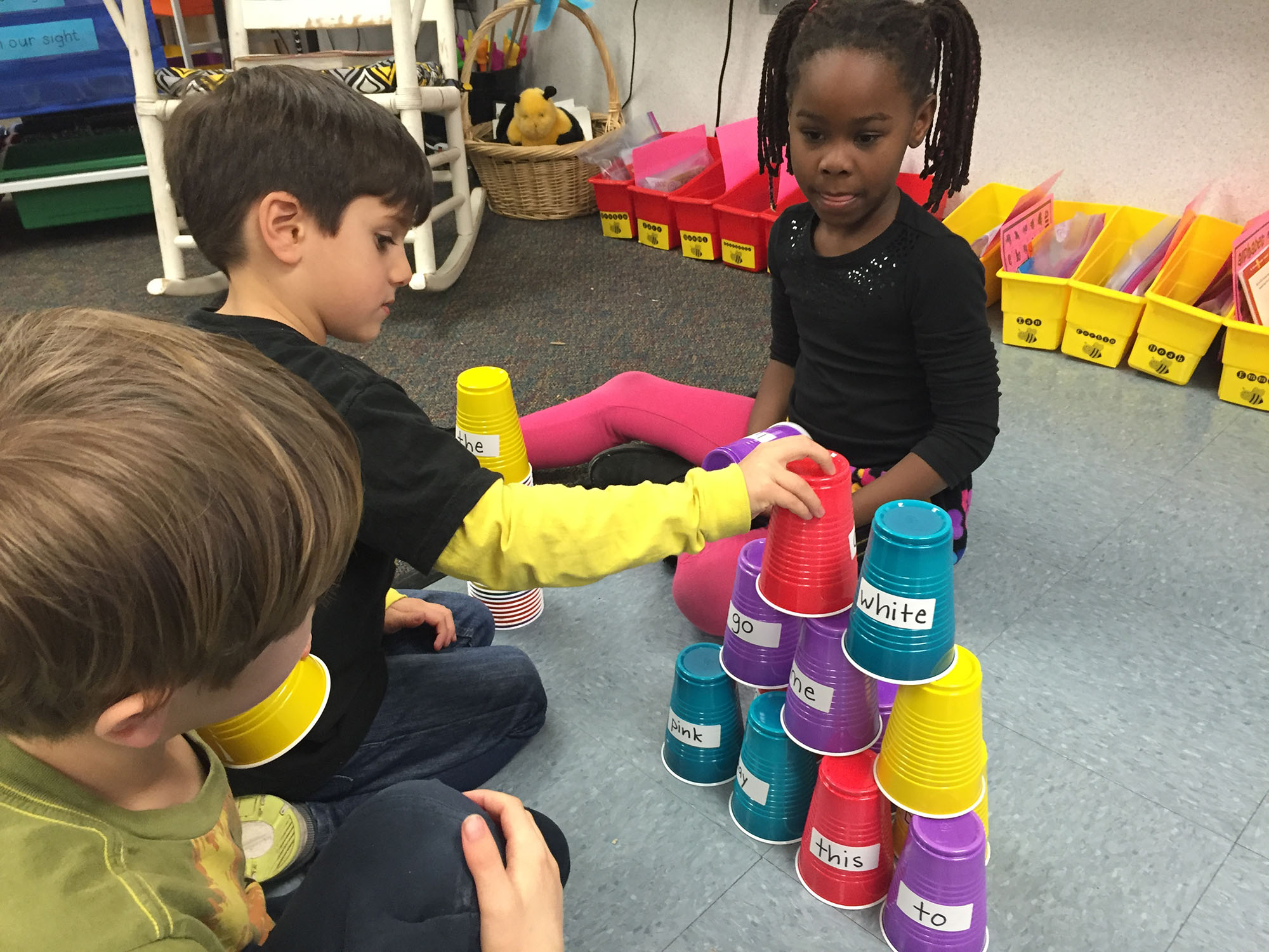 Learning sight words the fun way scholastic - Cups and kids ...