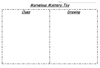 image of graphic organizer