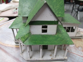 model house folk art