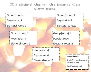 class electoral map