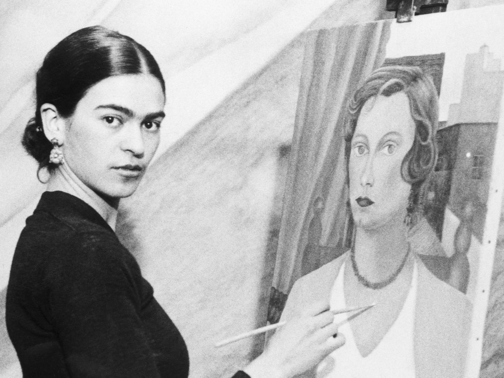 Frida Kahlo and Expression Through Self-Portraits Lesson Plan