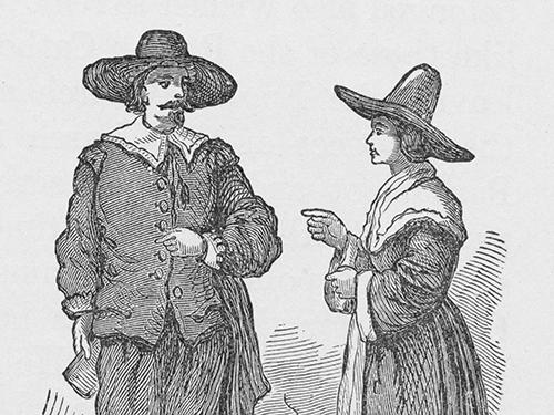Life In Plimoth Elizabeth And Damaris Hopkins Pilgrims Scholastic