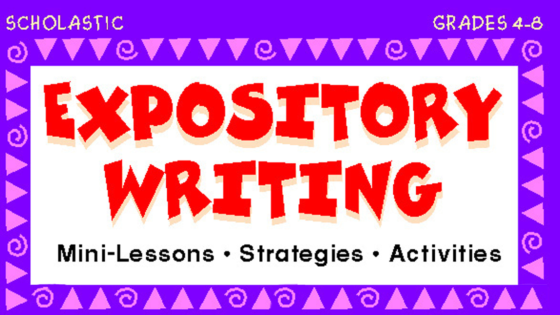 writing an informative essay lesson plan Explain yourself: an expository writing unit for • essay plan + thesis • start some of their own writing using ideas generated in lesson one and make.