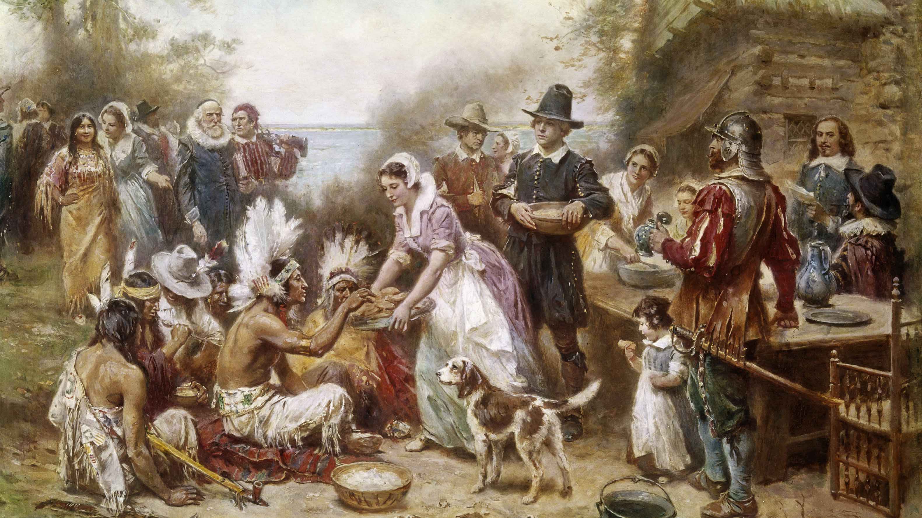 The First Thanksgiving Scholastic