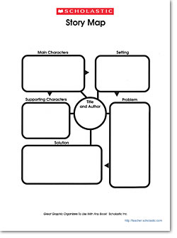 Graphic organizer story map scholastic graphic organizer story map ccuart Choice Image