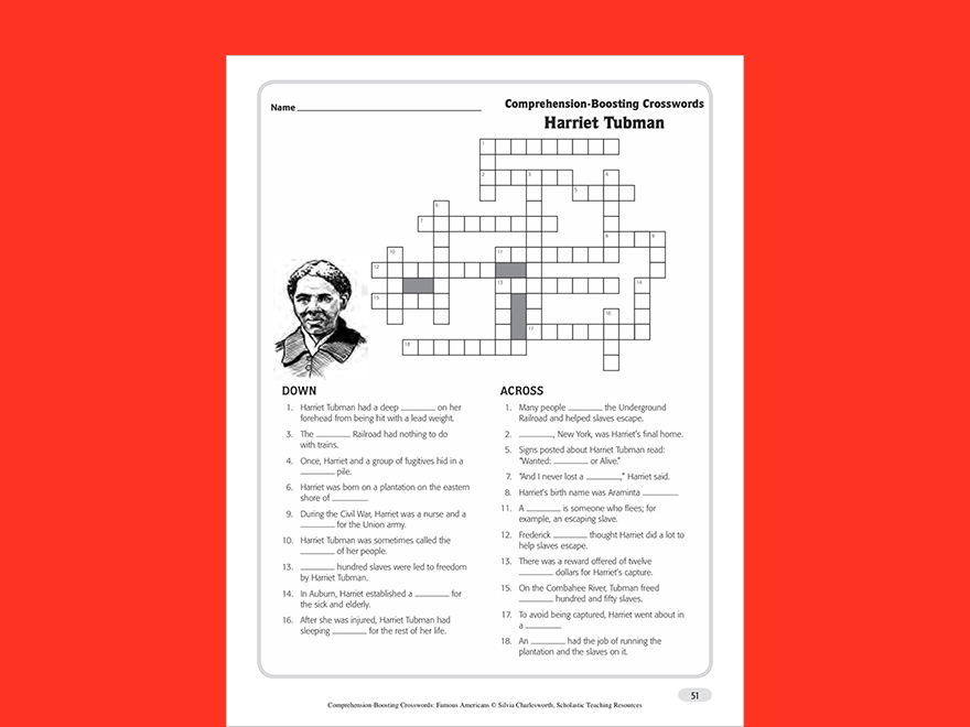 The Underground Railroad Vocabulary Guide – Underground Railroad Worksheet