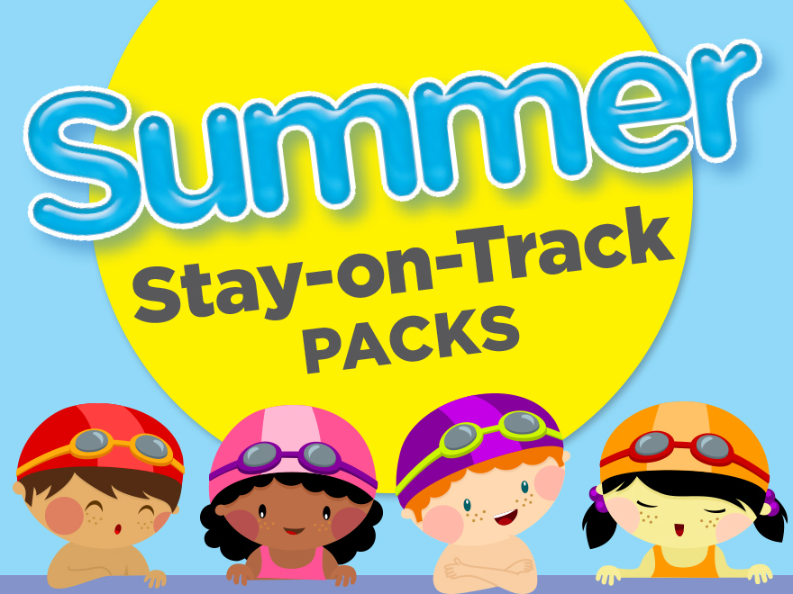 Summer Stay On Track Packs From Scholastic Teachables