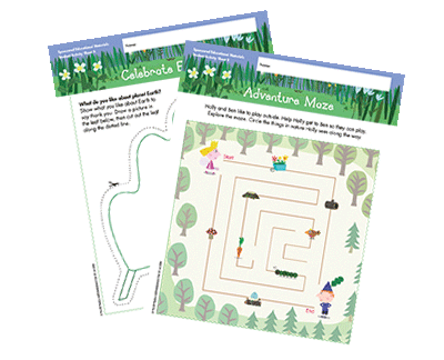 Nature Lessons and Activities for Preschoolers | Scholastic