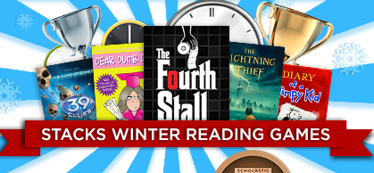 Announcing the STACKS Winter Reading Games